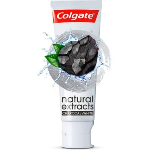 Colgate Natural Extracts Toothpaste (Charcoal) - 75 ml
