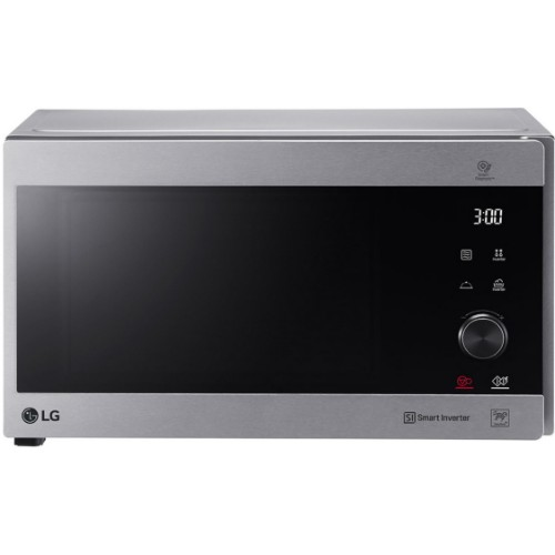 LG MH8265CIS 42 Litres Silver NeoChef Smart Inverter Microwave With Grill