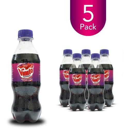 Vimto Sparkling 300ml Bottle Drink (5 Pack)