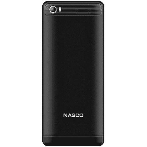 Nasco NS3-BLACK Dual Sim Bluetooth Mobile Phone (Black)