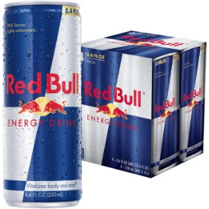 Red Bull 250ml Can Energy Drink (4 Pack)