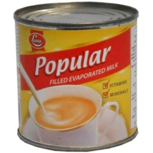Luna Popular Filled Evaporated Milk - 160g
