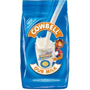 Cowbell Plain Powdered Milk Sachet - 400g