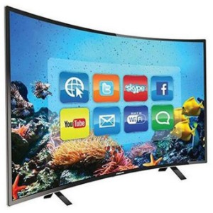 Nasco LED65Q9 65 inches 4K UHD Curved Android Smart Satellite TV