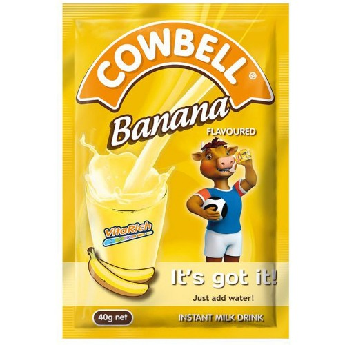 Cowbell Banana Milk - 40g (10 Sachets)