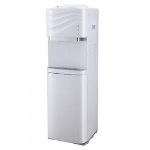 Nasco YL1631S-W 16 Litres 3 Taps Water Dispenser with Fridge Cabinet - White