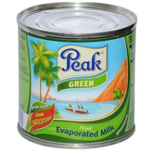 Peak Filled Evaporated Green Milk (Unsweetened) - 160g