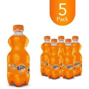 Fanta Orange 300ml Bottle Drink (5 Pack)