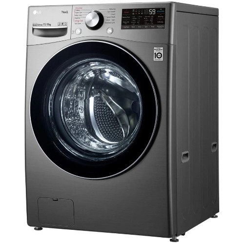 LG F0L9DGP2S 15kg Fully Automatic Front Load Washing Machine with 8kg Built-in Dryer
