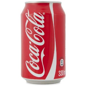 Coca-Cola Classic 330ml Can Drink