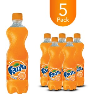 Fanta Orange 500ml Bottle Drink (5 Pack)