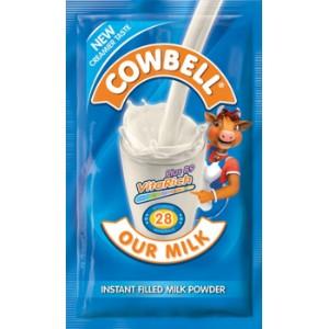Cowbell Plain Powdered Milk - 26g (10 Sachets)