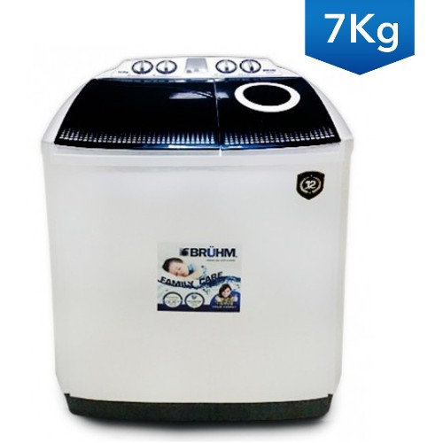 Bruhm BWT-070H 7Kg Semi Automatic Washing Machine