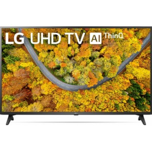 LG 43UP7550PVG 43 inches  4K Active HDR webOS Smart TV with AI ThinQ