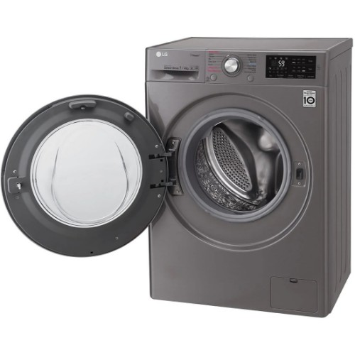 LG F2J6HGP2S 7kg Washing Machine with ThinQ and Built-in 4kg Dryer