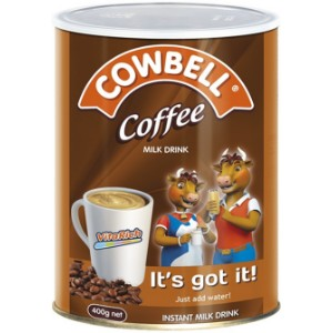 Cowbell Coffee Milk Drink Tin - 400g