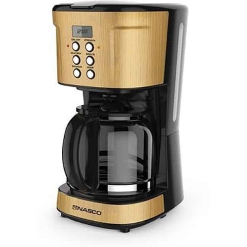Nasco CM9410T-GS 1.5 Litres 900 watts Coffee Maker