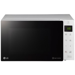 LG MS2535GISW 25 Litres Solo NeoChef Smart Inverter Microwave Oven