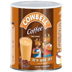 Cowbell Coffee Tin Milk Powder - 400g