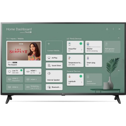 LG 65UP7550PVG 65 inches 4K Active HDR webOS Smart TV with AI ThinQ