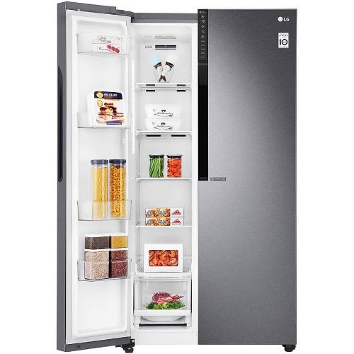 LG GC-B247KQDV 613 Litres Inverter Linear Compressor Side by Side Refrigerator