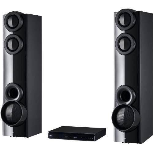 LG LHD675BG Dual In-built Sub-woofer Home theater