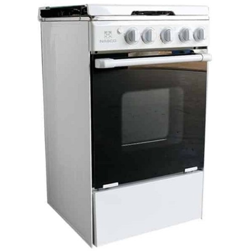 Nasco NASGC-BME50I 4 Burner 50x55cm Gas Cooker with Oven & Grill