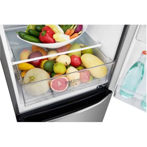 LG GCB389SLQZ 277 Litres 2 Doors Refrigerator with Inverter Linear Compressor