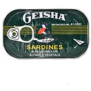 Geisha Sardine - 125G