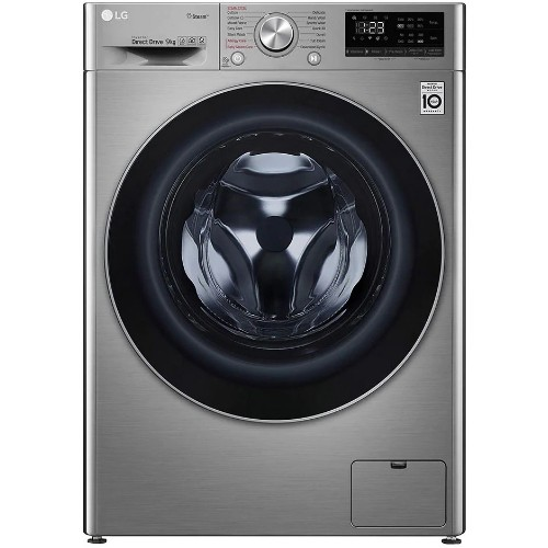 LG F4V5VYP2T 9kg Fully Automatic Front Load Washing Machine with AI DD Technology
