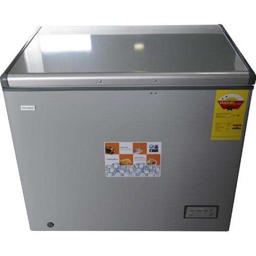 Nasco NAS-300 Silver 260 Litres Chest Freezer