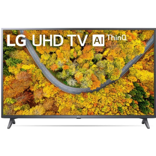 LG 55UP7550PVG 55 inches 4K Active HDR webOS Smart TV with AI ThinQ