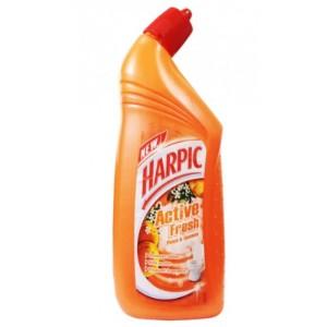 Harpic Active Fresh Toilet Cleaner - Peach & Jasmine - 725ml