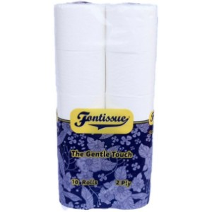 Fontissue Toilet Paper - The Gentle Touch (10 rolls)