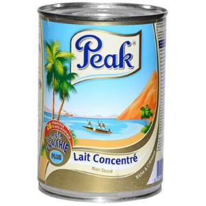 Peak Evaporated Milk (Unsweetened) - 400g