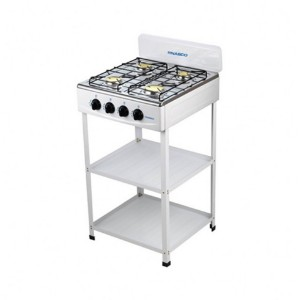 Nasco NASGS-K4CSS-S 4 Burners Gas Stove