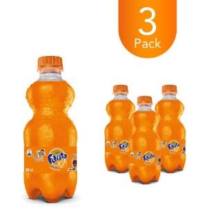 Fanta Orange 300ml Bottle Drink (3 Pack)