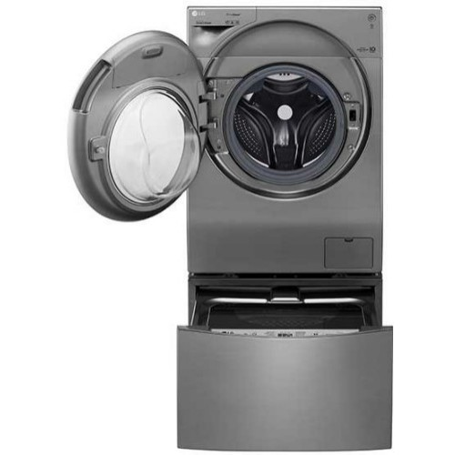 LG FH6G1BCHK6N Twin Wash 12Kg Wash / 8Kg Dry plus 2Kg Front Loader Washing Machine