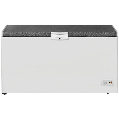 Beko HS530-SILVER 445 Litres Chest Freezer