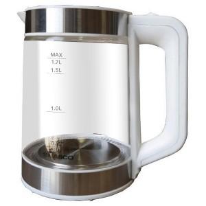 Nasco KEG-1706 1.7 Litres Glass Electric Kettle